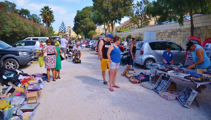 Charity car boot sale tomorrow in aid of the Arka Foundation, Gozo