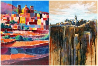 Exhibition by Gozitan artists Christopher Saliba and Paul Stellini
