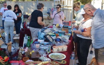 Charity Fair in Victoria organised by the Friends of the Sick & Elderly Gozo