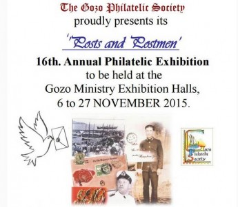 Gozo Philatelic Society annual exhibition and Sunday lectures
