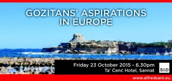 Gozitans' Aspirations in Europe Conference to be held in Sannat