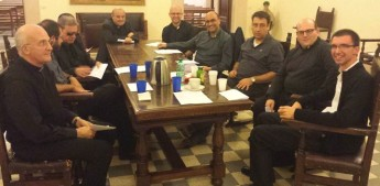 Bishop Grech meets with Gozitan priests and Maltese Sisters in Rome