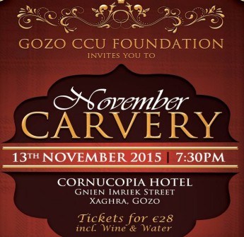 A 'November Carvery' in aid of the Gozo CCU Foundation