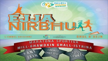 48hr Gozo Sports Marathon 'Ejja Nirb hhu' in aid of Istrina 2015