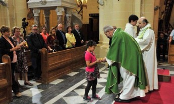Grandparents Day celebrated in Gozo with Mass at Ta' Pinu
