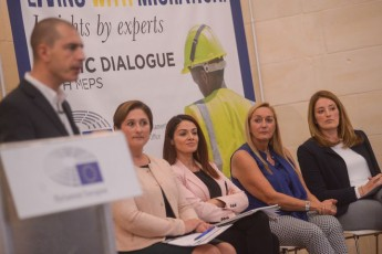 'Living with Migration: Conference by the  European Parliament office