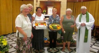 The Anglican Community in Gozo assist with Order of Malta relief aid