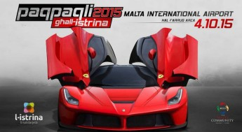 Paqpaqli Ghall-Istrina 2015 this Sunday at Malta International Airport
