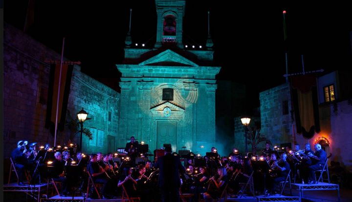 Santa Lucija Symphony of Lights with the Gozo Youth Wind Band