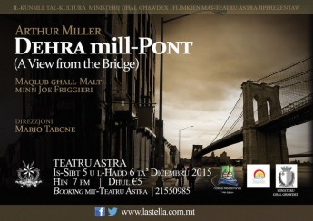 Dehra mill-Pont at the Teatru Astra in Gozo this coming weekend