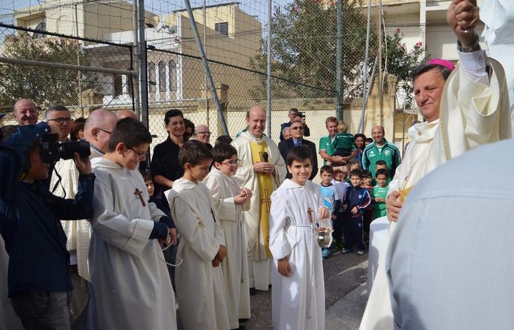 Gozo monument to Don Bosco inaugurated by the Bishop