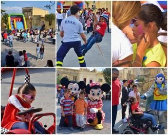 Children of all ages enjoy World Children's Day activities in Sannat