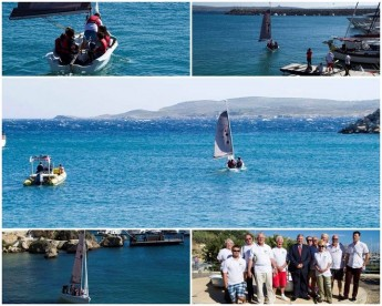 Children experience the art of sailing in Gozo open day event