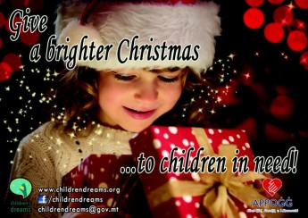 Give a brighter Christmas to Children in need - Children's Dreams