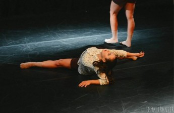 Dance students on tour, with a performance to take place in Nadur
