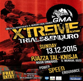 Xtreme Trials & Endurocross with the Gozo Motocross Association