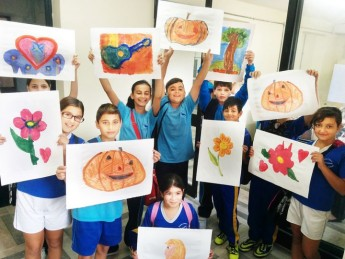Ghajnsielem Primary students attend art workshops at the VPA