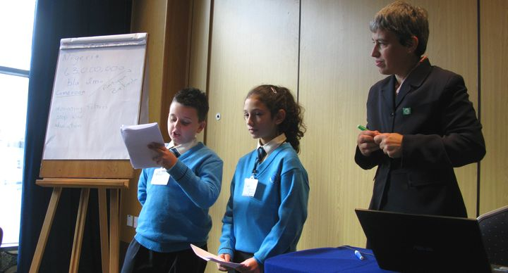Gharb Primary students attend CHOGM seminar promoting wellbeing
