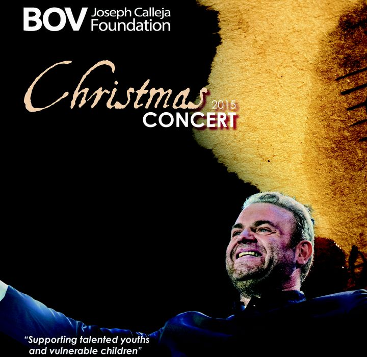 Joseph Calleja to perform in annual fundraising Christmas Concert