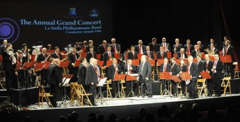 La Stella Band's Annual Grand Concert: 45 years for Maestro Vella