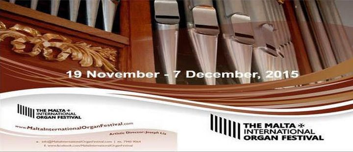 Gozo concert on Sunday for Malta International Organ Festival