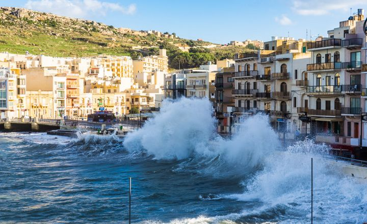 ERRC warns swimmers of rough conditions in Gozo swimming areas