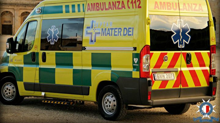 Two Gozitans injured in Malta traffic accident this morning