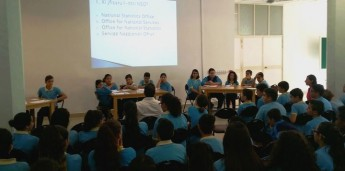 NSO event for students at the Gozo College Secondary School