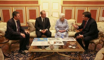 Queen is given an overview of plans for new Gozo medical school