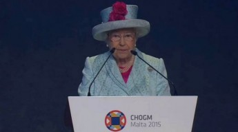 Queen pays tribute to the Maltese Government and people