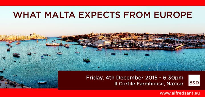'What are the Maltese expecting from Europe?' - Conference