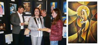 Christmas Card exhibition by Gozo Visual and Performing Arts School