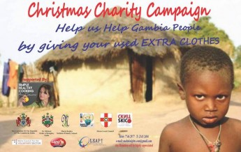 Christmas Charity Campaign in Gozo to help the people of Gambia
