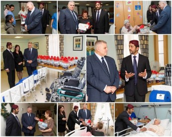 Christmas gifts & medical equipment donated to Gozo General Hospital