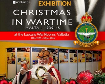 Christmas in Malta pictorial exhibition at the Lascaris War Rooms