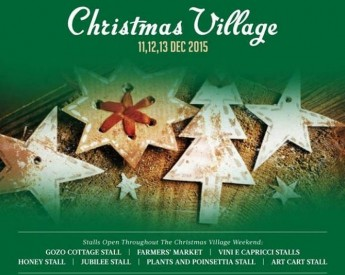 Christmas Village weekend at the Gozitano Agricultural Village