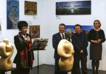 Gozitan artists exhibit at Frankfurt as part of  'Cultural Days – 2015 Malta'
