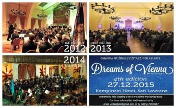 Dreams of Vienna: End of year concert by Ghaqda Muzikali Vizitazzjoni