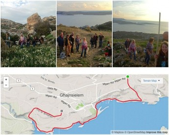 36 bags of rubbish collected during Gozo Rocks Clean & Green hike