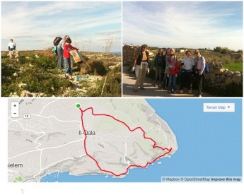 Gozo clean-up hike this coming Sunday starting in Qala