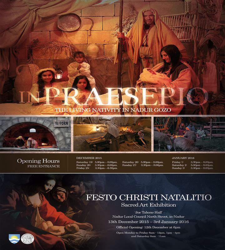 Nadur Living Nativity & Sacred Art exhibition come to a close on Sunday