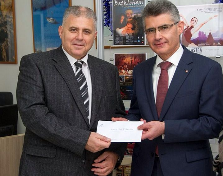 MTA gives its support for the Christmas in Gozo programme 2015