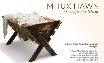 Mhux Hawn: A live crib with a difference in Xaghra this Christmas