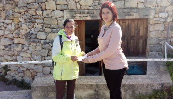Volunteers help with conservation work at Wied Ghollieqa Reserve