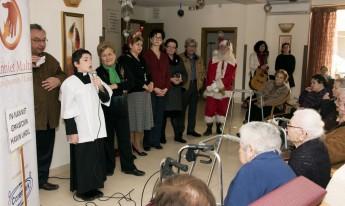 Nanniet Malta (Gozo Branch) bring festive cheer to elderly residents
