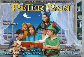 Peter Pan: Musical adventure with students from GC Secondary School