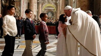 Homily of Pope Francis on the Feast of the Holy Family