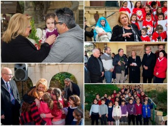 President visits locations in Gozo for second weekend of Istrina