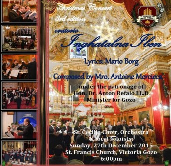 Christmas Concert oratorio with the Santa Cecilja Choir & Orchestra