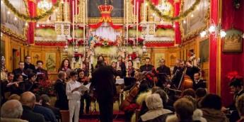 Santa Cecilja Choir & Orchestra Christmas concert at St Francis Church